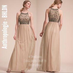 NWT ANTHROPOLOGIE BHLDN Lachlan Beading Dress 2